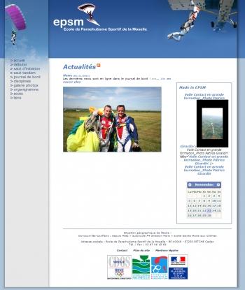 EPSM - Ecole de Parachutisme Sportif de la Moselle