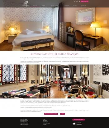 Hôtel de Paris à Besançon
