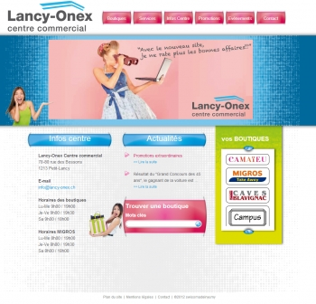 Lancy-onex - Centre commercial