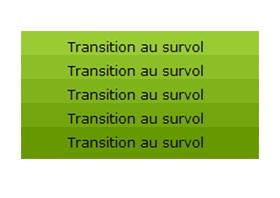 Les transitions en CSS3