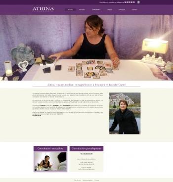 Athina - voyance - écran n°1