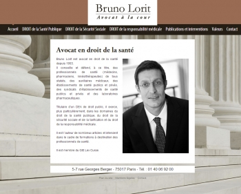 Avocat Bruno Lorit - écran n°1