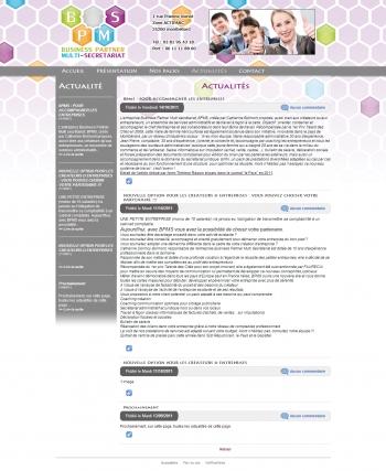 BPMS - écran n°2