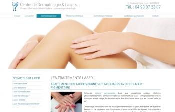 Centre de Dermatologie & Lasers des docteurs Olivia Roux & Maxime Zakaria - écran n°4