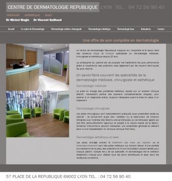 Centre de dermatologie république - écran n°2