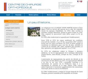 Chirurgie Dijon - écran n°7