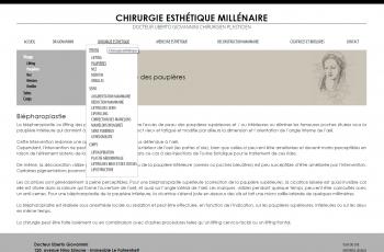 Chirurgie esthétique millénaire - Docteur Giovannini - écran n°2