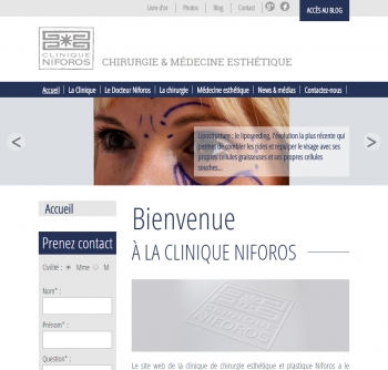 Chirurgie Niforos - écran n°1