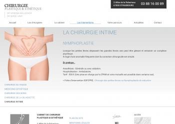 Chirurgie plastique & esthétique Strasbourg - écran n°11