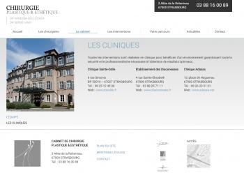 Chirurgie plastique & esthétique Strasbourg - écran n°5