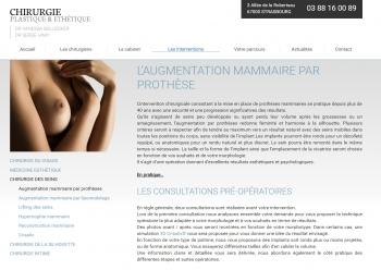 Chirurgie plastique & esthétique Strasbourg - écran n°9