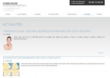 Chirurgie plastique & esthétique Strasbourg - écran n°12