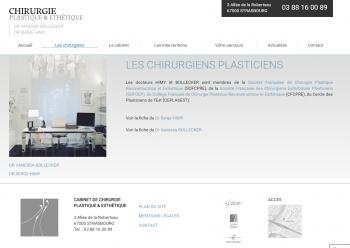 Chirurgie plastique & esthétique Strasbourg - écran n°1