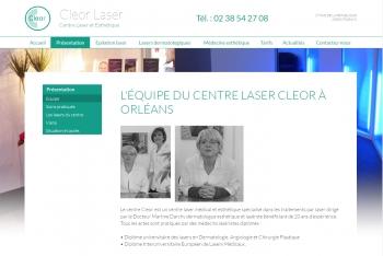 Cleor laser - écran n°3