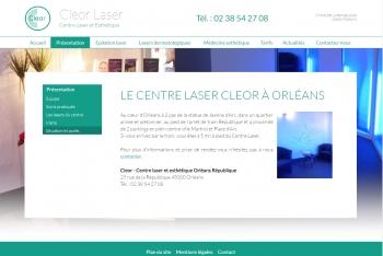 Cleor laser - écran n°4