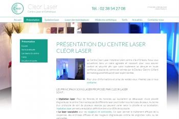 Cleor laser - écran n°2