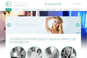 Cleor laser - écran n°1