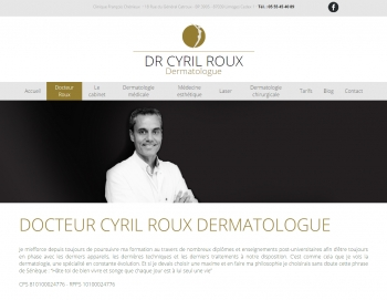 Docteur Cyril Roux - écran n°2