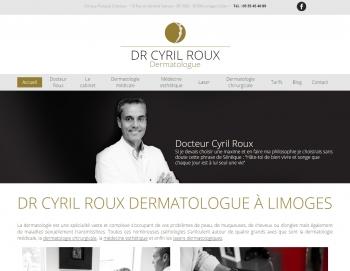 Docteur Cyril Roux - écran n°1