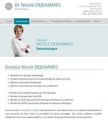Docteur De Jeammes - écran n°2