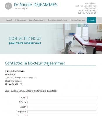 Docteur De Jeammes - écran n°6