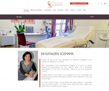 Docteur Kathleen Scemama - écran n°1