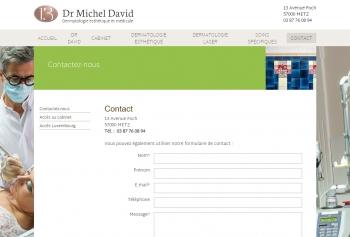 Docteur Michel David - écran n°11