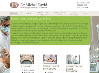 Docteur Michel David - écran n°1