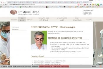 Docteur Michel David - écran n°2