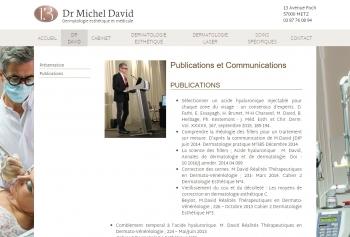 Docteur Michel David - écran n°6