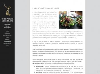 Docteur Odile Labrousse - écran n°3