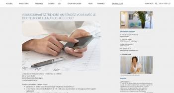 Docteur PASCALE GROLLEAU ROCHICCIOLI - écran n°7