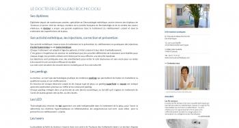Docteur PASCALE GROLLEAU ROCHICCIOLI - écran n°2
