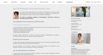 Docteur PASCALE GROLLEAU ROCHICCIOLI - écran n°6