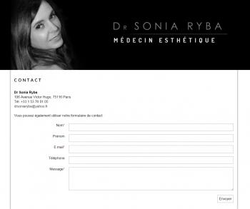 Docteur Sonia Ryba - écran n°4