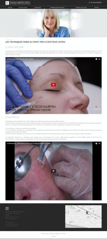 Dr Isabelle Catoni - écran n°4
