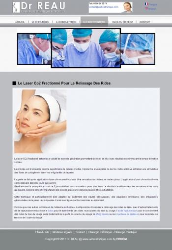 Dr Reau - Chirurgie esthétique Bordeau - écran n°4
