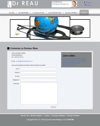 Dr Reau - Chirurgie esthétique Bordeau - écran n°5