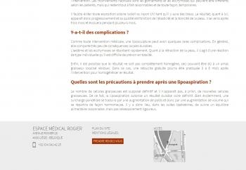 Espace Médical Rogier - écran n°4