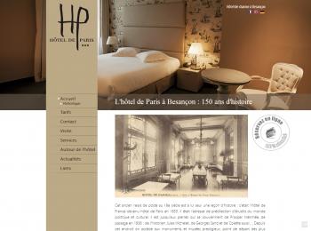Hôtel de Paris à Besançon - écran n°2
