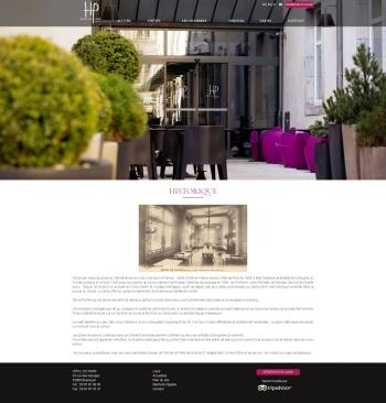 Hôtel de Paris à Besançon - écran n°3