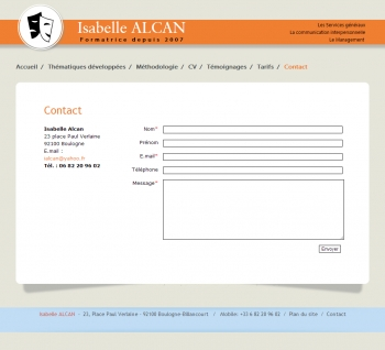 Isabelle Alcan - écran n°1