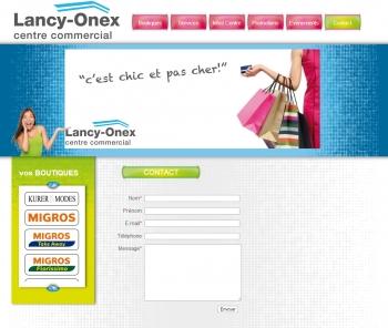 Lancy-onex - Centre commercial - écran n°6
