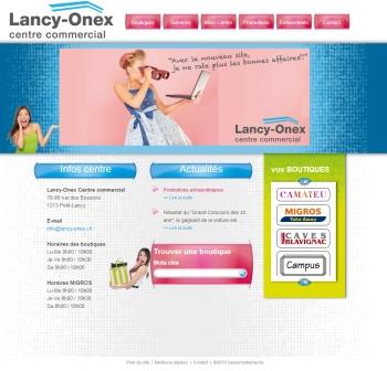 Lancy-onex - Centre commercial - écran n°1