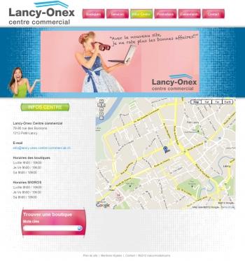Lancy-onex - Centre commercial - écran n°3