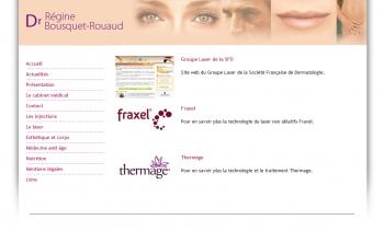 Laser esthétique - Dr régine Bousquet-Rouaud - écran n°4