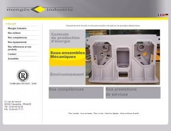 Mengès Industrie - écran n°1