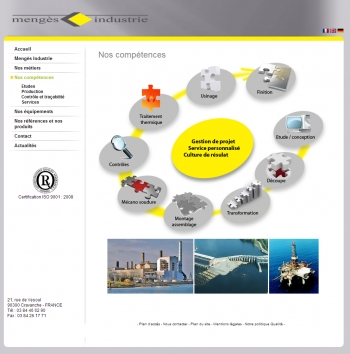 Mengès Industrie - écran n°3