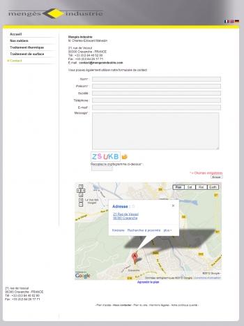 Mengès services - écran n°2