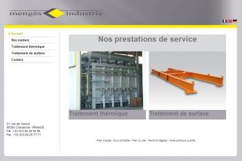 Mengès services - écran n°1